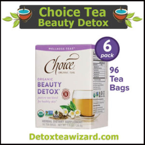Choice organic tea Beauty detox