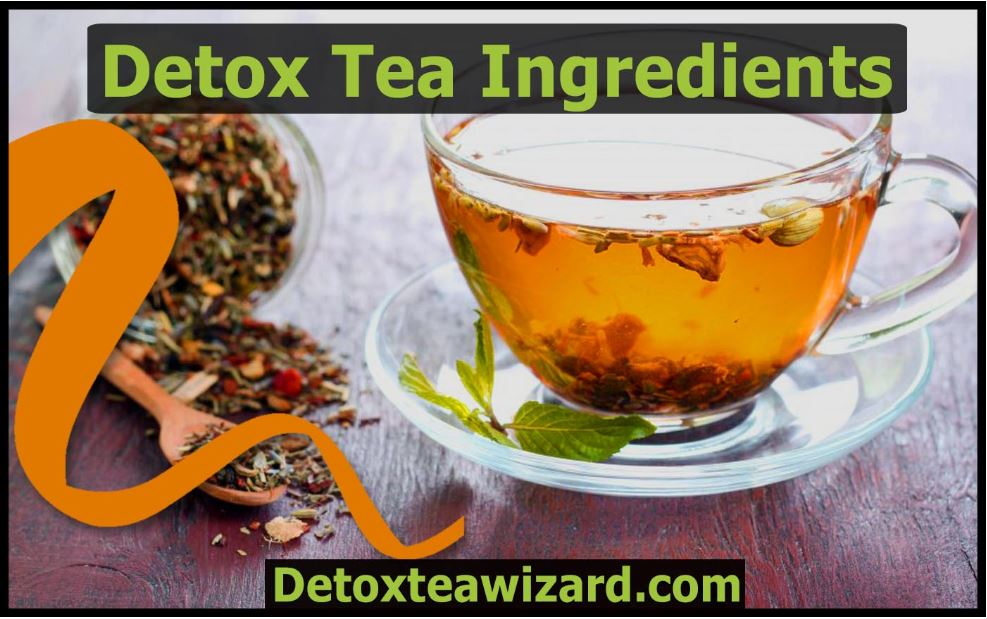 Detox tea ingredients
