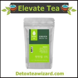 Elevate tea citrus detox green tea