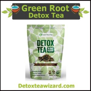 Green root tea - Detox tea