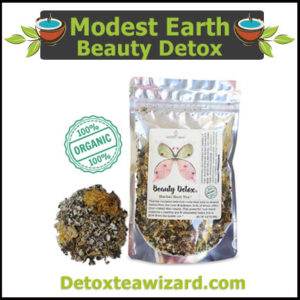 Modest earth Beauty detox tea
