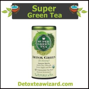 The republic of tea- super green tea