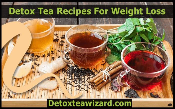 Detox tea recipe for weight loss