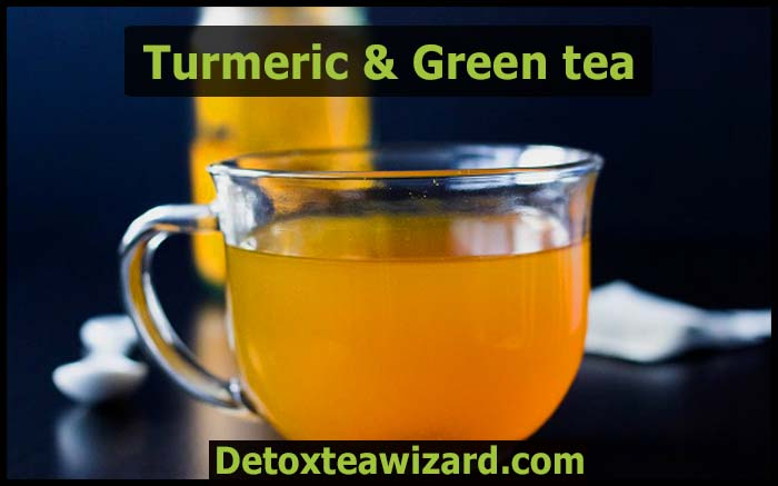 turmeric green detox tea recipe
