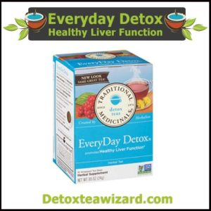Everyday Detox Herbal tea healthy liver function