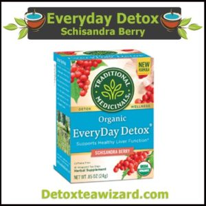 Organic Everyday Detox Tea reviews - schisandra berry