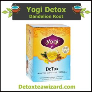 Yogi Tea Detox reviews - Dandelion root