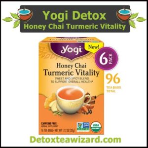 Yogi Tea - Honey Chai Turmeric Vitality