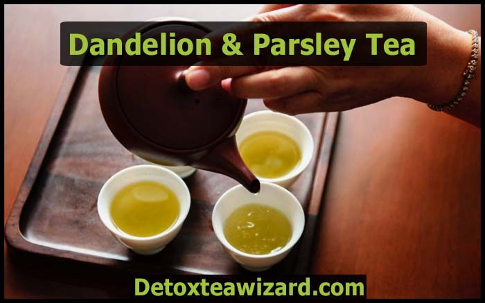 dandelion and parsley tea recipe
