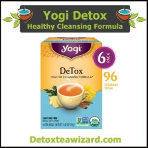 yogi detox tea reviews - healthy cleansing formula