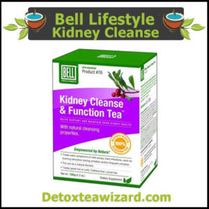 Bell Lifestyle Kidney detox tea and Function