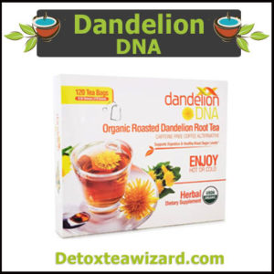 Dandelion DNA organic roasted detox tea