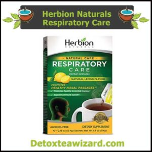 Herbion Naturals Respiratory Care Tea