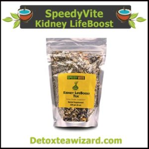 SpeedyVite Kidney LifeBoost Tea