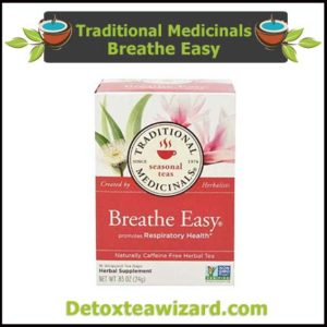 Tradional Medicinals Breathe Easy Tea