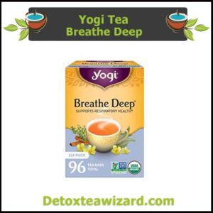 Yogi Breathe deep tea