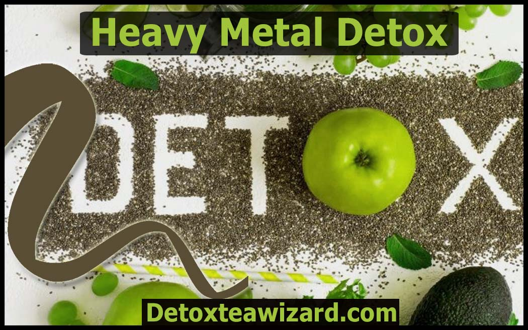 Heavy metal detox by detoxteawizard