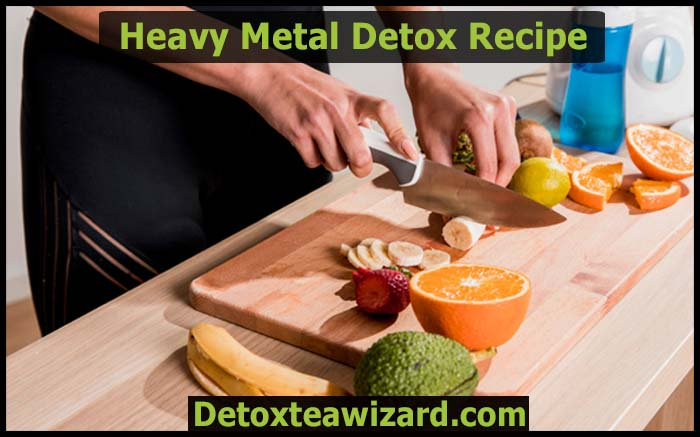 heavy metal detox drink recipes