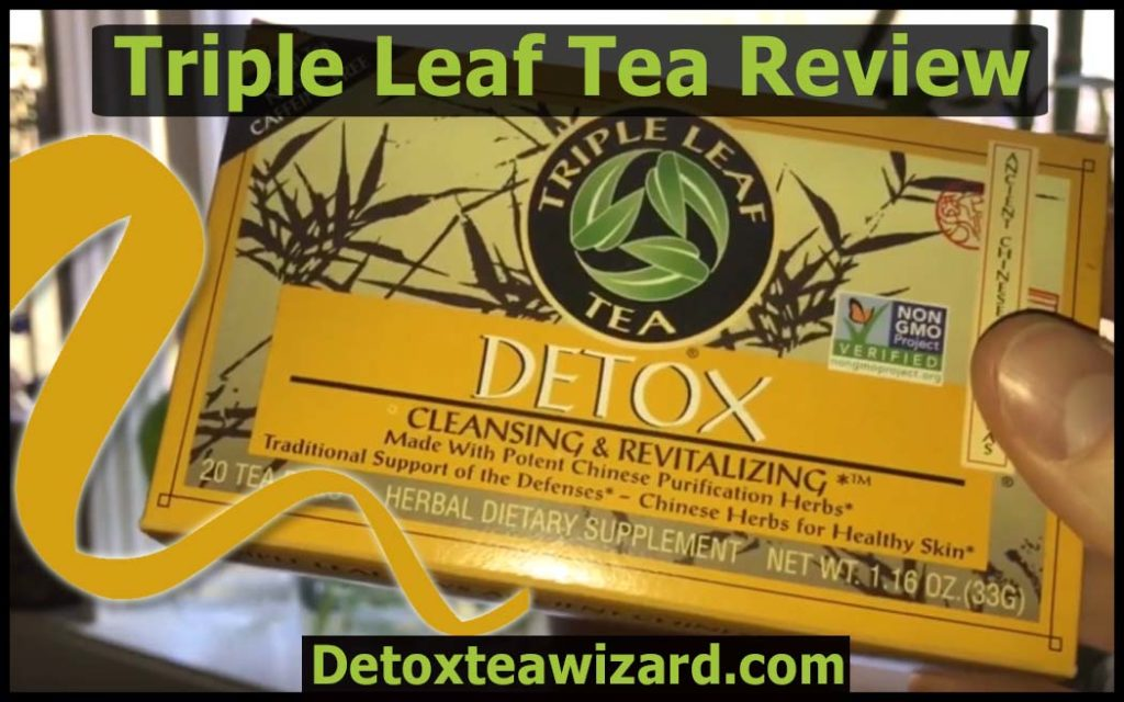 triple leaf tea review by detoxteawizard.com