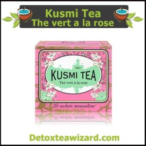 Kusmi tea - the vert a la rose