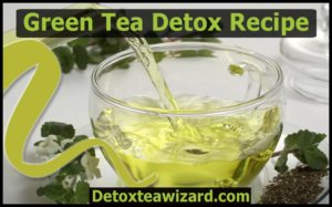 green tea detox recipe by detoxteawizard.com