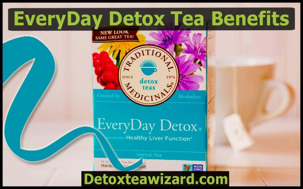 Everyday Detox Tea Benefits by detoxteawizard.com