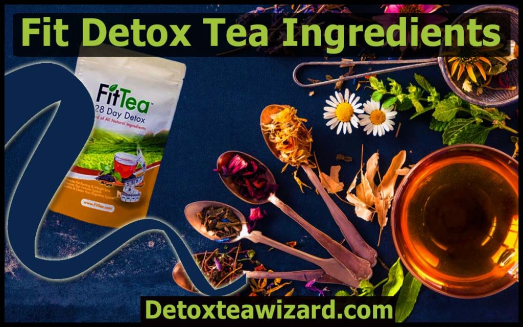 Fit tea ingredients by detoxteawizard.com