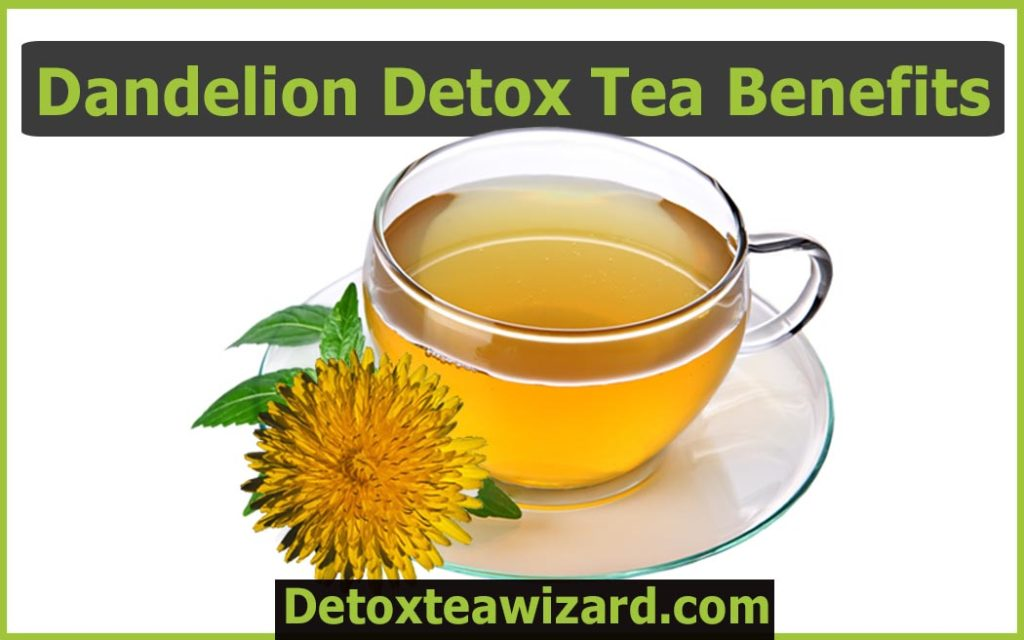 Dandelion detox tea benefits by detoxteawizard