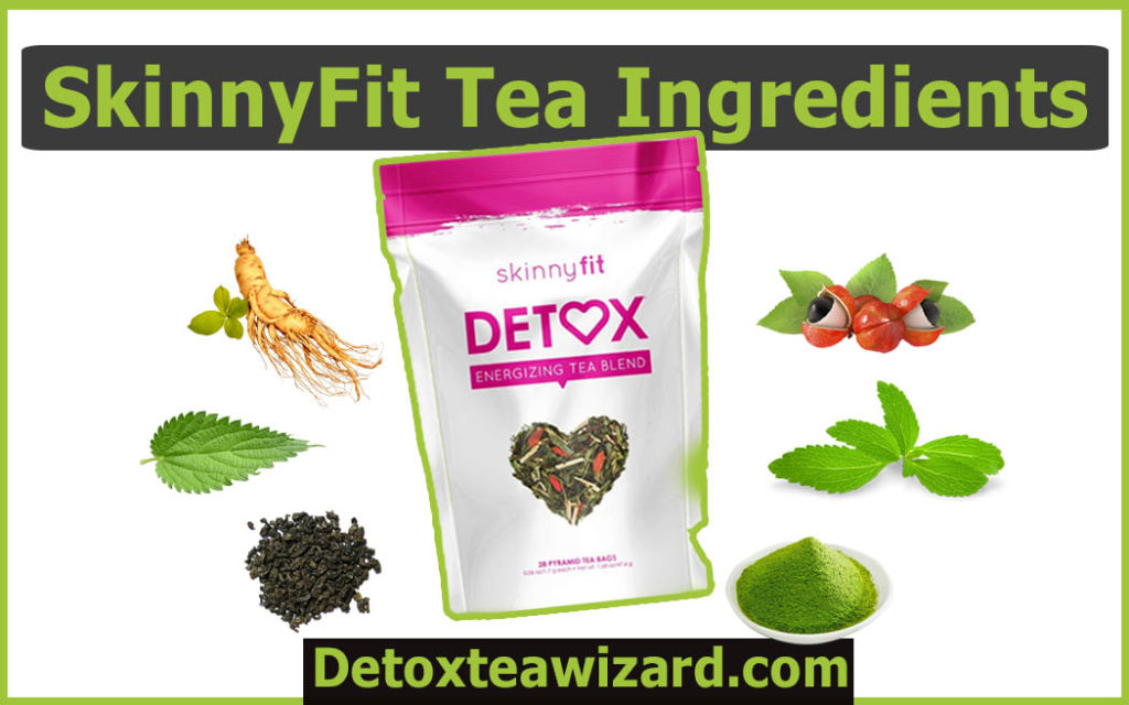 skinnyfit tea ingredients by detoxteawizard