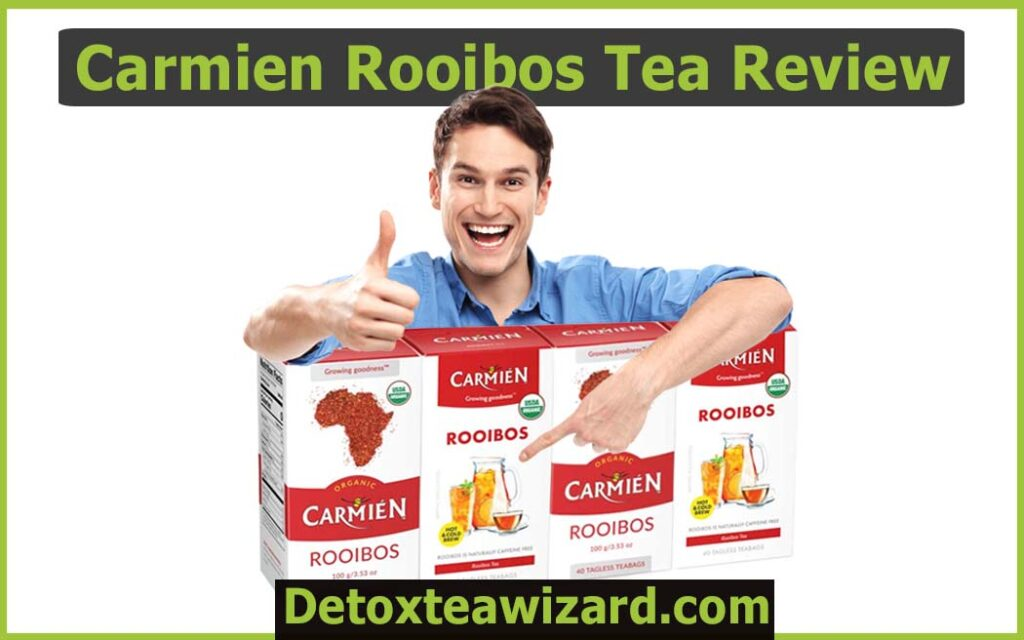 Carmien rooibos tea review by detoxteawizard