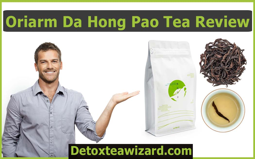 Oriarm Da Hong Pao Roasted Oolong Tea review by detoxteawizard